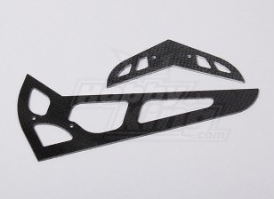 HK600GT CF horizontal/vertical tail fin (HN6058)