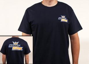 Hobby King T-Shirt Navy Blue (Large)