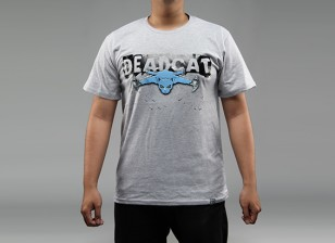 HobbyKing Apparel DeadCat Cotton Shirt (M)