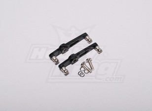 HK-500GT Metal Flybar Control Arm Set (Align part # H50013-1)
