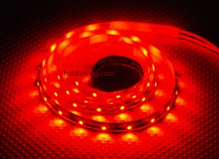 Turnigy High Density R/C LED Flexible Strip-Red (1mtr)