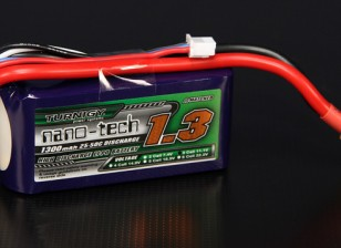 Turnigy nano-tech 1300mah 3S 25~50C Lipo Pack