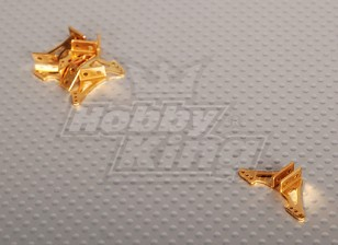Alloy Horn L13.5 x H14mm (5 Pairs/bag)