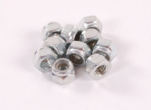 Hex locknuts M3 10pc