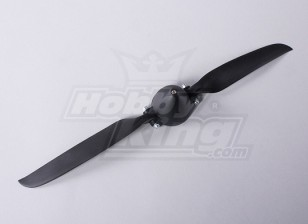 Folding Propeller W/Hub 45mm/4mm Shaft 12x6 (1pc)