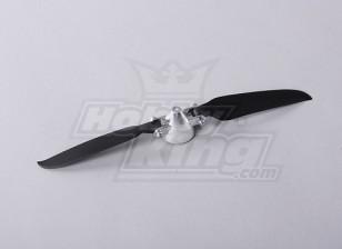 Folding Propeller W/Alloy Hub 35mm/3mm Shaft 9x5 (1pc)