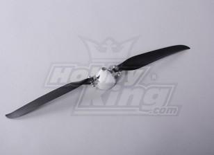 Folding Propeller W/Alloy Hub 45mm/4mm Shaft  13.5x7 (1pc)