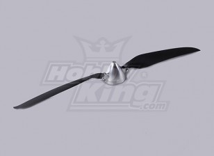 Folding Propeller W/Alloy Hub 50mm/5mm Shaft 15.5x9.5 (1pc)