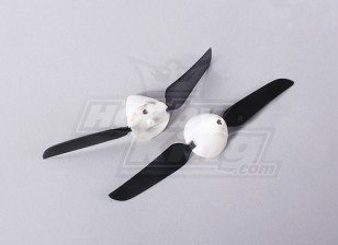 Folding Propeller W/Hub 18mm/2mm Shaft 5.1x3.1 (2pcs)