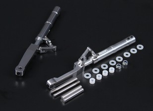 Alloy Oleo Legs Offset P-47 Style 140mm 2pc