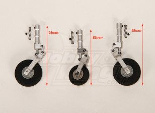 7075 Alloy Shock Absorbing Strut Set