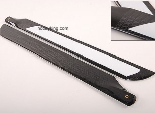 500mm TIG Carbon Fiber Z-Weave Main Blades