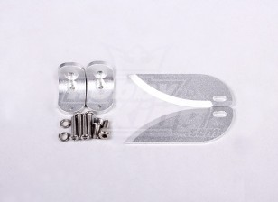 63mm TurnFin Set L&R - Suit HobbyKing Vanquish 1075MM BOAT