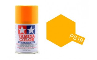 Tamiya Color Paints for Polycarbonate PS-19 Camel Yellow Spray Paint (100ml)