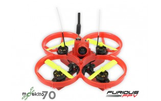 FuriousFPV Drone MOSKITO 70mm (FRSKY Compatible)