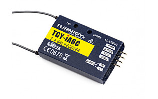 Turnigy iA6C PPM/SBUS 8CH  2.4G AFHDS 2A Telemetry Receiver