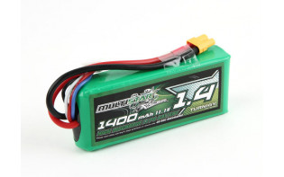 MultiStar Racer Series 1400mAh 3S 40-80C Multi-Rotor Lipo Pack For FPV Minis