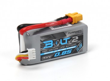 Turnigy Bolt V2 850mAh 3S 65~130C High Voltage Lipo Pack