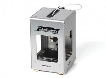 Mini Fabrikator V2 3D Printer - Silver (UK Plug)