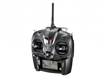 JR XG6 6-Channel 2.4GHz DMSS Transmitter w/Telemetry & RG613BX Receiver (Mode 2)