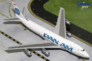 Gemini Jets (Pan Am) Pan American World Boeing 747-100  (Billboard Livery, Polished) N741PA 1:200 G2PAA619