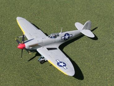 Gemini Jets Supermarine Spitfire MK IX USAAF 52nd FG, 2nd FS, Lt. Freddie Ohr Tunisia 1943 Gemini ACE 1/73 GAUSA1004