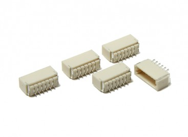 JST-SH 6Pin Socket (Surface Mount) (5pcs)