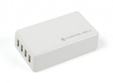 USB 4Port 16W/3A Charger (EU Plug)