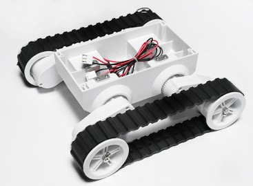 Rover 5 Tracked Robot Chassis Without  Encoder