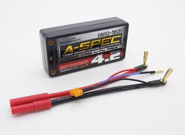 Turnigy nano-tech A-SPEC 4200mah 2S 65~130C Hardcase Shorty Lipo Pack