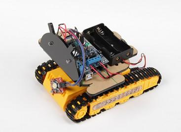 Kingduino Tracked Cellphone Bluetooth Robot Kit