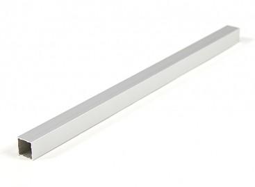 Aluminum Square Tube DIY Multi-Rotor 12.8x12.8x250mm (.5Inch) (Silver)
