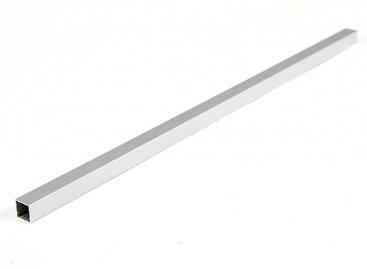 Aluminum Square Tube DIY Multi-Rotor 12.8x12.8x400mm (.5Inch) (Silver)