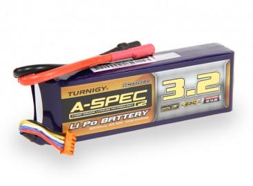 Turnigy nano-tech A-SPEC G2 3200mah 4S 65~130C Lipo Pack