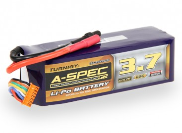 Turnigy nano-tech A-SPEC G2 3700mah 6S 65~130C Lipo Pack