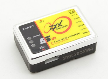 Tarot ZYX-S2 3-Axis Gyro Flybarless System w/USB Program Adapter