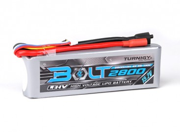 Turnigy Bolt 2800mAh 4S 15.2V 65~130C High Voltage Lipoly Pack