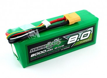 Multistar High Capacity 8000mAh 4S 10C Multi-Rotor Lipo Pack