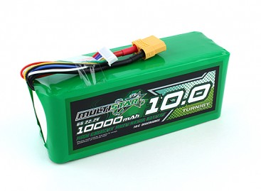 Multistar High Capacity 10000mAh 6S 10C Multi-Rotor Lipo Pack
