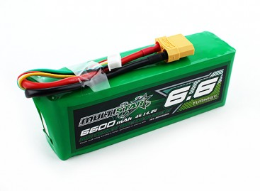 Multistar High Capacity 6600mAh 4S 10C Multi-Rotor Lipo Pack