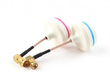 5.8GHz Circular Polarized Antenna Set-Transmitter and Receiver 90° (SMA)
