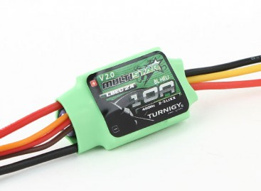 Turnigy Multistar 10A V2 ESC With BLHeli and 2A LBEC 2-3S V