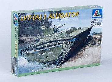 Italeri 1/35 Scale LVT - (A) 1 Alligator Plastic Model Kit