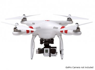 DJI Phantom 2 Quad Copter and ZENMUSE H3-3D 3-Axis Gimbal Combo (Ready To Fly)