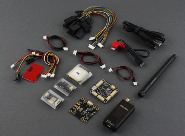 Micro HKPilot Mega Master Set With OSD, GPS, Telemetry Radio, PDB/BEC/Power Sensor  (433Mhz) (APM)