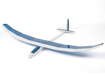 Felipe Vadillo Designed Dynamo Glider Balsa 1500mm (Blue/White) (ARF)