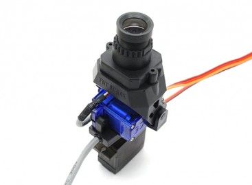 FatShark 700TVL CMOS FPV Camera NTSC/PAL with Pan and Tilt