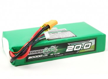 Multistar High Capacity 20000mAh 4S 10C Multi-Rotor Lipo Pack