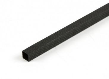 Carbon Fibre Square Tube 10 x 10 x 500mm