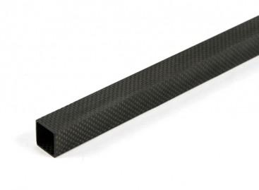 Carbon Fibre Square Tube 20 x 20 x 600mm